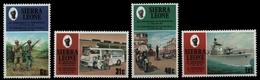Sierra Leone 1981 - Mi-Nr. 632-635 ** - MNH - 10 Jahre Republik - Sierra Leone (1961-...)