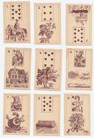 Lenormand Kaarten Zonder Tekst - Petits Metamorphoses - 36 Kaarten - Cartes à Jouer