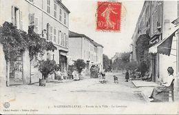 St GERMAIN-LAVAL : Entrée De La Ville - La Génétine - Saint Germain Laval