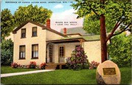 Wisconsin Janesville Residence Of Carrie Jacobs Bond - Janesville