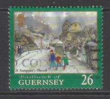 Guernsey 2000 EUROPA Stamps - Tower Of 6 Stars 26p Multicolored SW 865 O Used - Guernsey