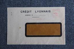 Enveloppe Publicitaire - Agence De NARBONNE , Banque : CREDIT LYONNAIS - Banca & Assicurazione