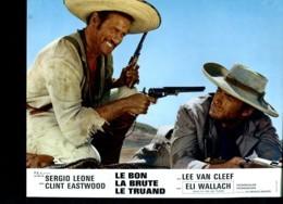Photo Du Film Le Bon, La Brute Et Le Truand De Sergio Léone Avec Clint Eastwood, Lee Van Cleef, Eli Wallach - Affiches & Posters