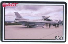 Télécarte AGT - Avion Militaire - Armée