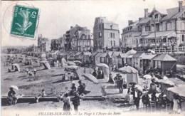 14 - Calvados -  VILLERS Sur MER  - La Plage A L Heure Des Bains - Villers Sur Mer