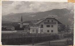 RISCONE-BRUNICO-BOLZANO-VAL PUSTERIA-PENSIONE=EDELWEISS=-CARTOLINA VERA FOTOGRAFIA VIAGGIATA IL 11-8-1954 - Bolzano (Bozen)
