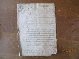 SANCERRE LE 28 JANVIER 1807 MARIAGE DE JACQUES PELOYE VIGNERON ET DE MARIE RAFESTIN - Manuscrits