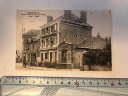 Cpa 61 Orne Alençon Hôtel De Normandie Face Gare Café - Tabac   Animée - Alencon