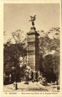SAIGON Monument Aux Morts De La Grande Guerre RV - Viêt-Nam