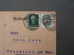 Bad Homburg Brief Nach Frankfurt - Deutschland