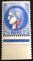 N° 487   NEUF ** SANS  CHARNIÈRE ( LOT:1188 ) - 1945-47 Cérès De Mazelin