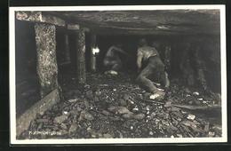 AK Kohlenbergbau, Arbeiter Im Schacht - Mines
