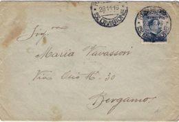 1916 POSTA MILITARE/ 15 Divisione C2 (28.11) Su Busta Affr. C.20/15 - Marcophilie