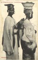 Afrique Occidentale Femmes Foulacha ° Cachet Militaire  RV - Sénégal