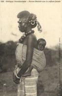 Afrique Occidentale Femme Malinké Avec La Coiffure Foulah  FortierRV - Sénégal
