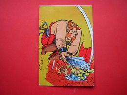CPM  THEME BD  ASTERIX ORDRALFABETIX  GOSCINNY  UDERZO 1973 DARGAUD EDITEUR CHEZ VOTRE LIBRAIRE LES AVENTURES    VOYAGEE - Comics