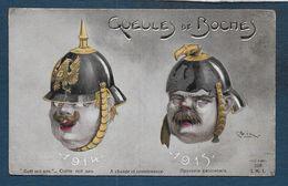 Guerre 14 - 18 --- Gueules De Boches - Humor