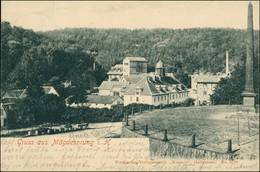 Ansichtskarte Mägdesprung-Harzgerode Straße - Denkmal, Stadt 1903 - Sin Clasificación