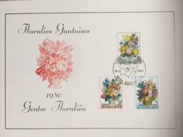 1966/68 (série Complète Floralies Gantoises 1980) - Cachet Zaventem 8-3-1980 - Maximumkarten (MC)