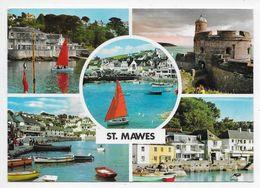 ST. MAWES Multiview - John Hinde - Modern Card - Inglaterra