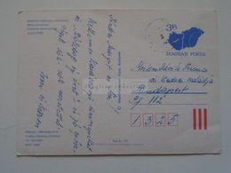 D171970 Hungary Postal Stationery -Entier -Ganzsache  - 3 Ft  Nr.  19113/a/893 - Interi Postali