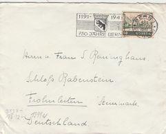 Suisse Lettre Censurée Bern Pour L'Allemagne 1941 - Postmark Collection