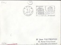 52 . HAUTE MARNE . *P.P.*/52-ST DIZIER Ppal . SECAP . 1970 - Marcophilie (Lettres)