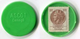 N93-0624 - Timbre-monnaie Ascot Camogli 100 Lires - Kapselgeld - Encased Stamp - Monétaires/De Nécessité