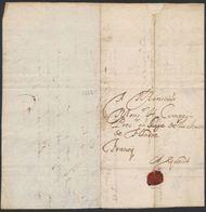 """Précurseur - LAC Datée De Kasteel Van Wynendael (1652) + Manusc. """"Franco"""" > Gent. TB - 1621-1713 (Pays-Bas Espagnols)"""