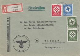 Einschreiben Erfurt Nach Weimar - Servizio
