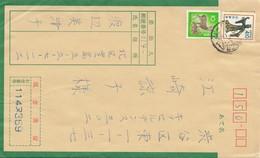 Japan Japanese Registered Cover - Non Classés