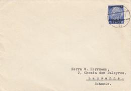 GG Schweiz Früher Brief Warschau, 11.12.39 Nach Lausanne, Zensur - Occupazione 1938 – 45