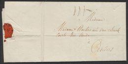 Précurseur - LAC Datée Le 19/11/1795 Remis à Un Messager Privé (port III) De Et Vers Un Habitant à Anvers. - 1794-1814 (Période Française)