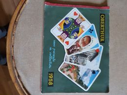 Catalogue Calendriers   Poste 30 Modeles Environs Imprimerie  Oberthur 1958  Paris - Grand Format : 1941-60