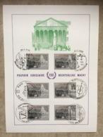 2035 (6x Palais De Justice Bruxelles) 6 Cachets Diff 23-1-1982 : Braine-l'Alleud, Halanzy, Brugge, Borgerhout, Brussel.. - Maximumkarten (MC)
