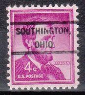 USA Precancel Vorausentwertung Preo, Locals Ohio, Southington 807 - United States