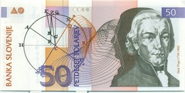 50 TOLARJEV 1992 - Slowenien