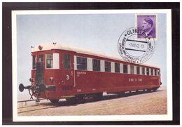 Böhmen U. Mähren (009705) Gedenkkarte 100 Jahre Nordbahn In Mähren Olmütz 1.8.1942, Sonderstempel, Engel: SB 74c - Boemia E Moravia