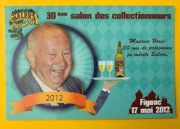 12583 - 30e Salon Des Collectionneurs Figeac 17 Mai 2012 Sponsor Gentiane Salers - Expositions