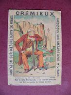 NANTES CREMIEUX Tailleur CHROMO Image Devinette Sur La Côte Normande Imprimé à Dole Jura - Sonstige