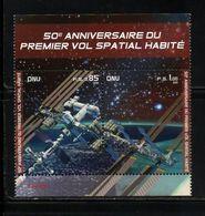 O N U    GENEVE 2011   NEUFs CH.    N° BF 22  N**  50ième Anniversaire Premier Vol. Valeur F.: 1,85 CHF - Neufs