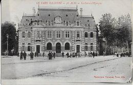 ALBI  ( Tarn Illustré ): La Caisse D'Epargne Animée (1919 ) - Albi