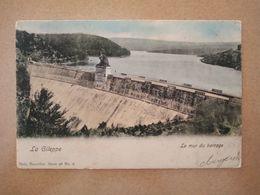 Postkaart 1905 La Gileppe Le Mur Du Barrage/Postcard 1905 La Gileppe Le Mur Du Barrage - Gileppe (Barrage)