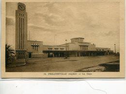 - AFRIQUE- ALGERIE- PHILIPPEVILLE -La Gare - Skikda (Philippeville)
