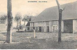 52    Chamont   Le Corgebin    Cour De Ferme - Chaumont