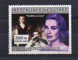 REP. GUINEA. 2007. CINEMA. GRACE KELLY. MNH (6R1203) - Schauspieler