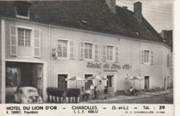 **** Format Plé CPSM - Dépliant De CHAROLLES  Hotel Du Lion D'Or R Connet Proprietaire  TTBE - Charolles