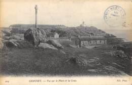 Îles Chausey - Vue Sur Le Phare Et La Croix - Granville