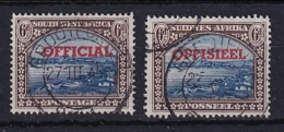 South West Africa: 1931   Official - Pictorial   SG O16   6d  Used Singles - South West Africa (1923-1990)