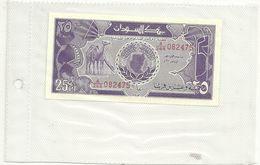 SUDAN-- 25 PT.  NUOVO - Soudan